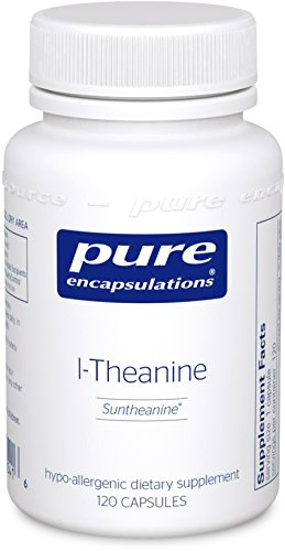 Pure Encapsulations l Theanine Hypoallergenic Supplement