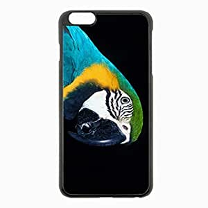 iPhone 6 Plus Black Hardshell Case 5.5inch - parrot beak color Desin Images Protector Back Cover