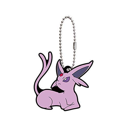 Bandai Pokemon Eevee Special Espeon Character Gacha Capsule Rubber Key Chain Mascot Collection Anime Art Ver.2 (Pokemon Mystery Dungeon Explorers Of Sky Lucario)