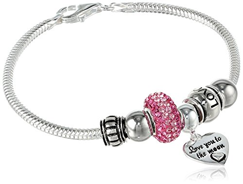 CHARMED BEADS Sterling Silver Bracelet product image