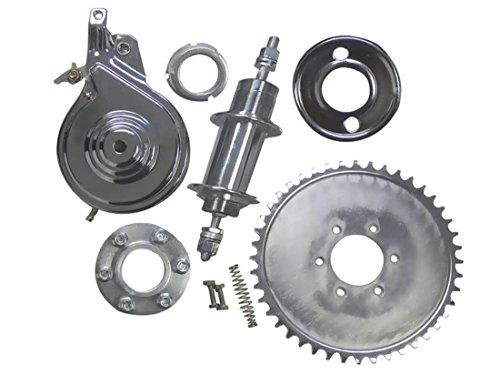 BBR Tuning 2-Stroke/4-Stroke Motorized Bicycle Non-Free Wheel Heavy Duty Axle Kit - Gas Bike Rear Axle Upgrade