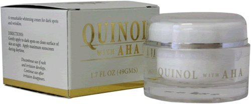 Cheap Quinol Anti Aging Moisturizer Cream with AHA (1.7 oz)