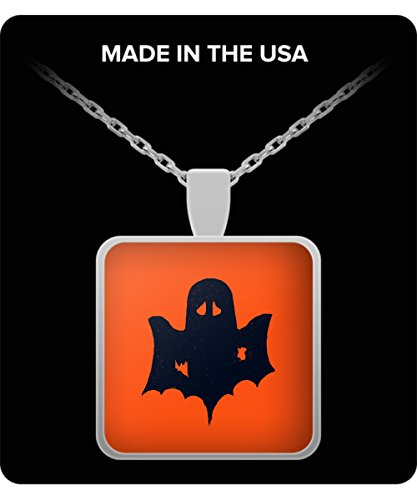 Kids Ghostly Ghoul Costumes (Halloween Spooky Ghost Ghoul Fun Holiday Jewelry Necklace Pendant)
