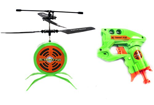Haktoys HAK207 RC Flying Target Game & Ultimate Nerf Gun Shooting Fun