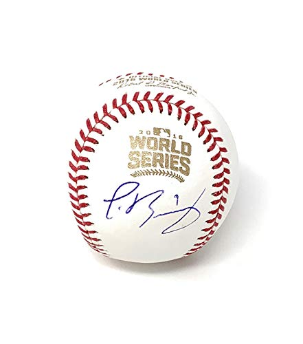 Javy Baez Chicago Cubs Signed Autograph Official WORLD SERIES MLB Baseball MLB Authentic - Signed Mlb Chicago Baseball Cubs