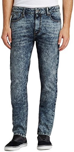 Modern Threads by Well Versed Men's Skinny Fit Jeans (34X34, Indigo Acid)