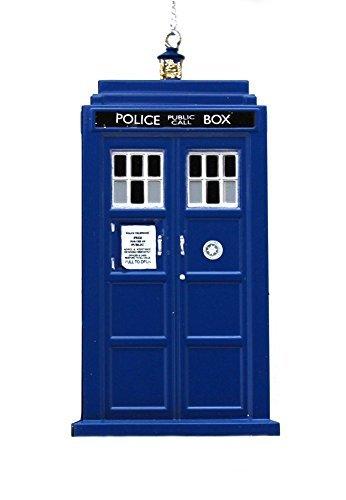 Kurt Adler 45inch Doctor Who Tardis Blow Mold Plastic Ornament