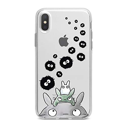 Lex Altern TPU Case for iPhone Apple Xs Max Xr 10 X 8+ 7 6s 6 SE 5s 5 Cover Slim fit Cute Child Women Away Girls Flexible Print Lightweight Anime Spirited Design Bunny Gift Smooth Soft Clear Animals