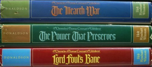 Chronicles of Thomas Covenant, the Unbeliever (Lord Foul's Bane; The Illearth War; The Power That Preserves) Boxed Set