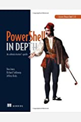 PowerShell in Depth: An administrator's guide Paperback