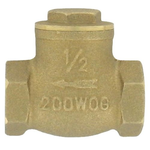 Check Valve Cap Nut (W.E. Anderson Brass Flap Check Valve, BFC-01, 3/4