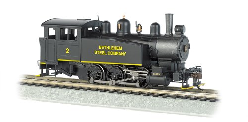 Price comparison product image Bachmann Industries 060 Porter Side Tank Dcc Equipped Locomotive Bethlehem Steel 2 HO Scale Train Car