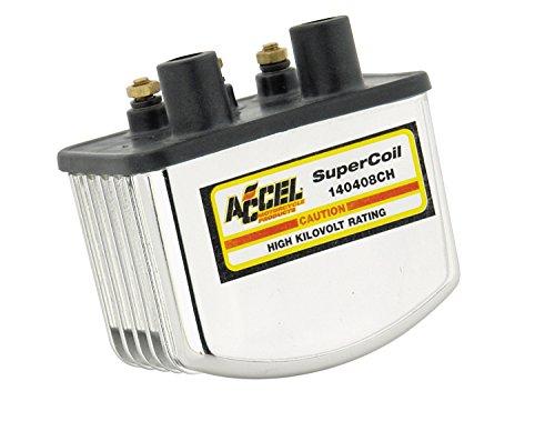 ACCEL 140408CH Single Fire Chrome Super - Super Single Fire Coil