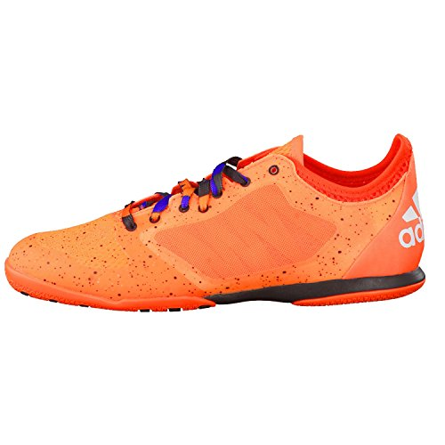 adidas Herren Fussballschuhe VS X 15.1 Court solar orange/ftwr white/core black 47 1/3