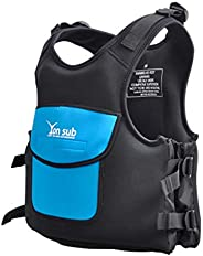 Professional Adult Adjustable Neoprene Life Vest Kayaking Boating Swimming Drifting Safety Life Vest