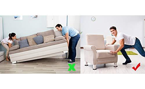 Felt Furniture Sliders Hardwood Floors 16 PCS 3.5