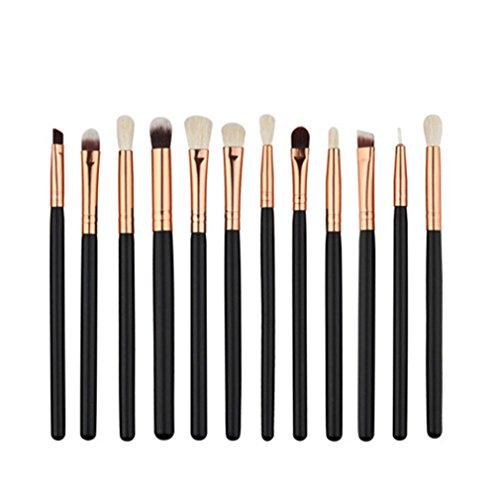 Cosmetic Makeup Brushes Set Kwasten Foundation Eyeshadow Eyeliner Lip Oval Make Up Eye Brush Set Mini 12 Pcs Maquiagem