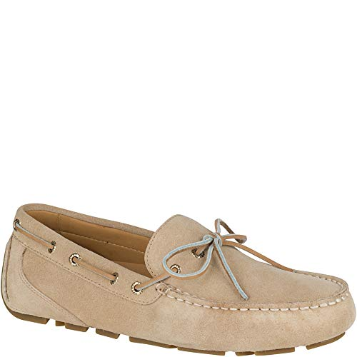 (Sperry Top-Sider Gold Cup Harpswell 1-Eye Suede Driver Men 11 Sand)