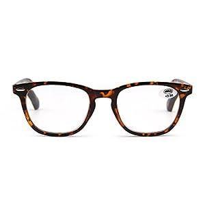 Retro Reading Glasses Spring Hinge Tortoiseshell Eyeglasses Readers Men Women Eyewear for Reading +2.5