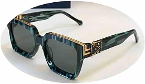 4a89bc681097 Luxury Millionaire M96006WN Sunglasses Full Frame Vintage Designer  Sunglasses for Men Shiny Gold Logo Gold Plated