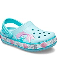 Crocs Boys Boys and Girls Mermaid Band Clog Clog