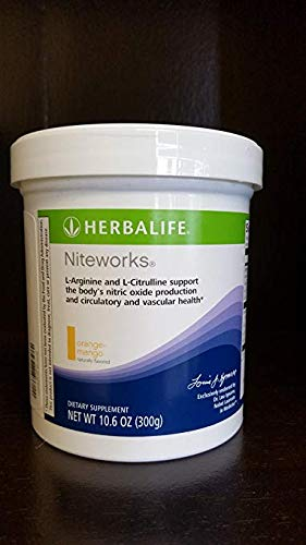 Herbalife Niteworks Powder Mix (Orange Mango 10.6oz