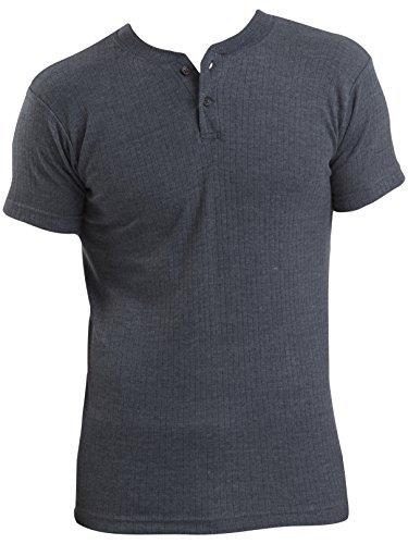 2er Pack Herren Thermo Unterwäsche kurzarm T-Shirt