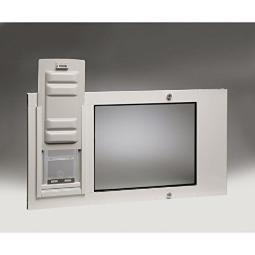 Endura Flap Thermo Sash 3e Pet Door Flap Size: Small, Color: White