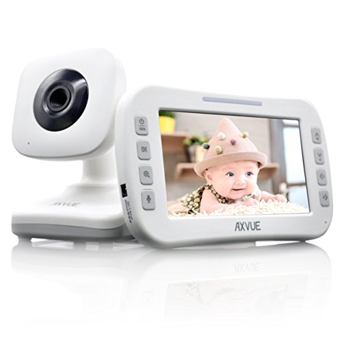 AXVUE E610 Video Baby Monitor with 4.3