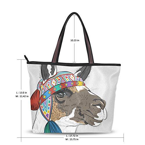multicolore à L pour main femme Mnsruu Sac TFqHxS