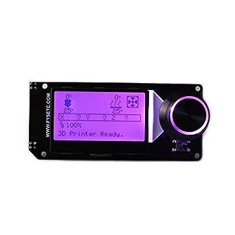 Accesorios de la impresora 3D Mini12864 Soporte de pantalla LCD ...