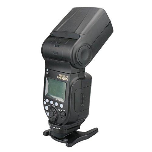 YONGNUO YN968N Wireless Flash Speedlite High-speed Sync TTL 1/8000 for Nikon with WINGONEER Diffuser by Yongnuo