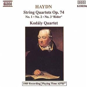 String Quartets Opus 74, 1-3