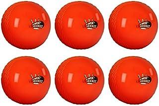 New Gray Nicolls Outdoor Team Sports Official Orange Kwik Cricket Balls Set Of 6 by Gray-Nicolls