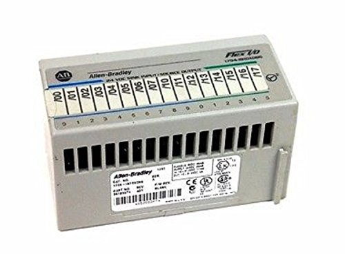Allen-Bradley 1794-IB10XOB6/A Flex Digital DC Combination I/O Module, 10 Current Sinking Input, 6 Current Sourcing (Sinking Output Module)