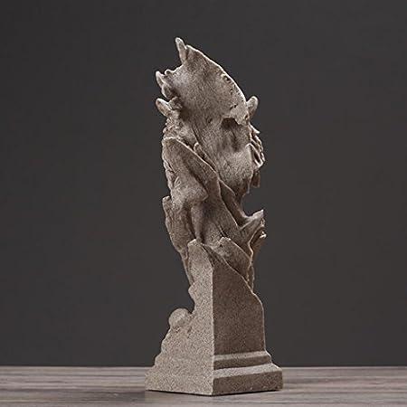 TLMY Adornos Creativos, Accesorios Simples for El Hogar, Decoraciones De Vinoteca. Adornos artesanales