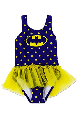 Dreamwave Toddler Girl Batgirl One Piece Swimsuit -