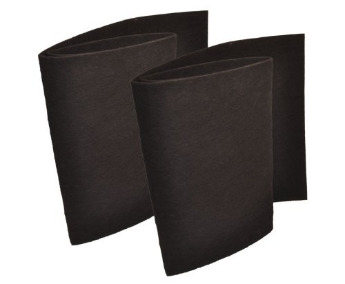 Breathe Naturally Premium Aftermarket Hunter 30901 Carbon Pre-Filters, Replacement 2-Pack Pre-Filter C, Hunter 30901/30903/30907 Air Purifiers, 230901 ()