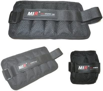 Mir Weighted Lower Body Training, Belt, Shorts, Ankle Wrist Weights Running Accessories