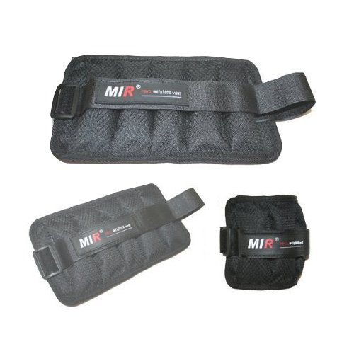 Mir Unisex- Adult 5LBS Ankle/Wrist Weight by Mir