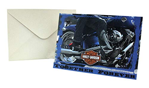 - Harley-Davidson Together Forever Anniversary Greeting Card