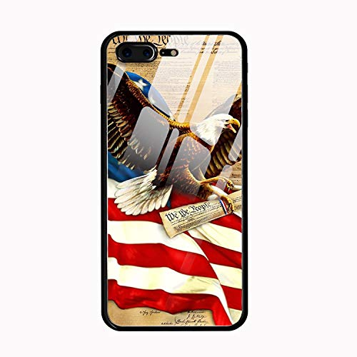 Eagles and Newspapers iPhone 8 Plus Case Ultra-Thin Anti-Scratch Shock Proof Dust Proof Anti-Finger Print PC ()