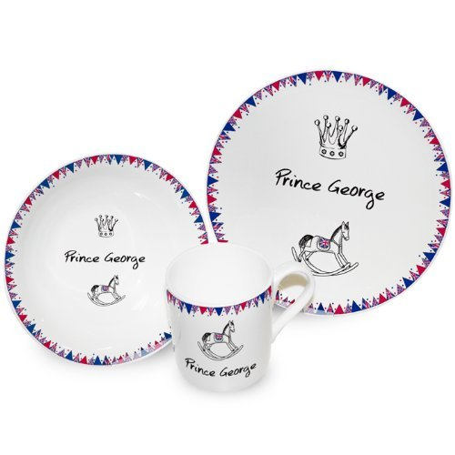 Personalised Royal Baby Breakfast Set by C.P.M.