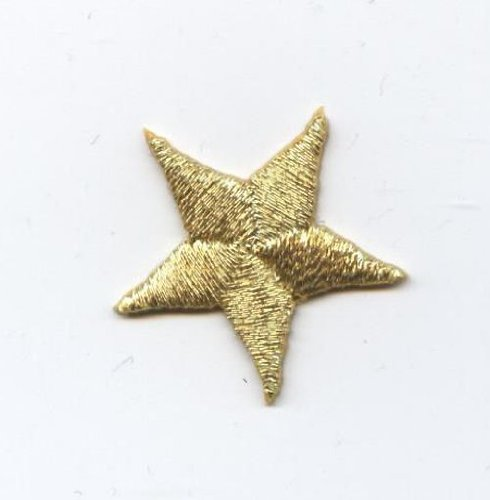 Gold PIECES Embroidered Applique Patch product image