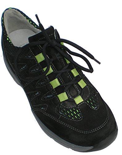 Para Waldläufer 192 368012 Negro Sneaker 200 Plantillas Hanefa Sueltos Mujer ZZw7R1q