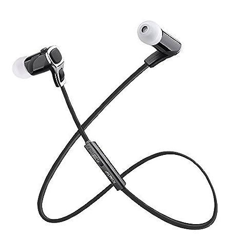 AGPTEK G10 Auriculares inalámbricos Bluetooth Tecnología aptX Avanzada para el Deporte, Senderismo, Yoga, Gimnasio, Construido micrófono: Amazon.es: ...
