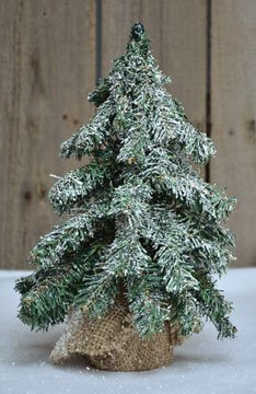 Heart of America Frosted Tree 12''
