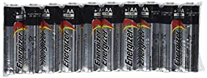Energizer AA Max Alkaline E91 Batteries Made in USA - Expiration 12/2024 or later - 50 count