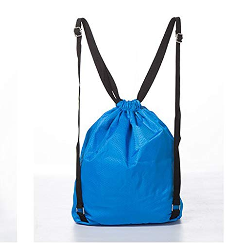 Sports B Organizer Blue Drawstring Waterproof Bag Backpack Swim Storage Baosity Duffle ZZBpwq8