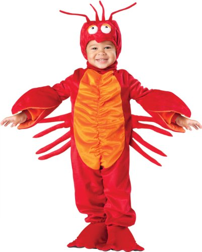 Lil' Lobster Costume Size: 4T (Baby Girl Lobster Costume)